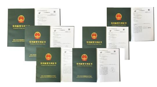 Six Patents Filed Successfully
